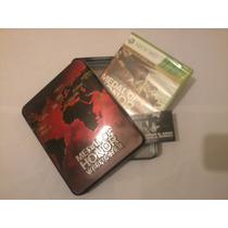 Medal Of Honor Warfighter Con Caja Metalica Xbox 360 Ntsc