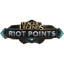 2500 Riot Points League Of Legends - Rp Lol - Insert Coin