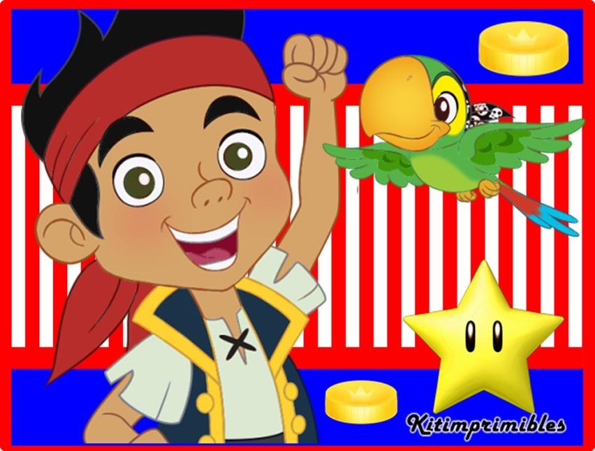 Kit Imprimible Jake y los Piratas de nunca jamas