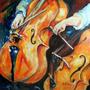 Cello Violoncelo - Musica - Instrumentos - Lamina 45 X 30 Cm