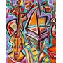 Collage De Instrumentos Musicales - Musica - Lamina 45x30cm.