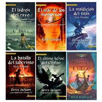 Rick Riordan - Los Dioses Del Olimpo Obra Completa 5 Tomos