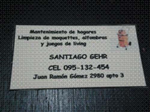 Limpieza De Alfombras, Moquettes Y Juegos De Living