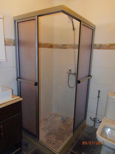 Puertas De Baño Acrilicas:Mamparas Ventanas Y Puertas Aluminio Cerramientos Rejas – $ 4700,00
