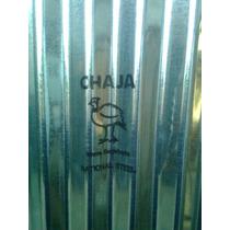 Chapa Galvanizada Techo Chaja Super Oferta 3.60x0.80