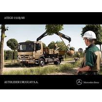 Mercedes Benz - Atego1518/48 Simp. Aleman