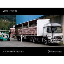 Mercedes Benz - Atego 1728s/36 Tractor Dob. (dormitorio)