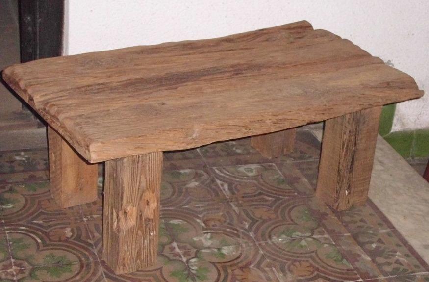 good mesa r stica de madera maciza en mesas de cocina madera rustica with mesas madera rusticas - Mesa De Madera Rustica