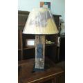 Lámparas Rústicas De Mesa