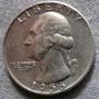 Antigua Moneda De Plata Cuarto Dollar Usa
