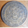 Venezuela Bolívar Libertador - Año 1929 25 Gramos Plata 900
