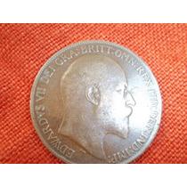 Buena Moneda De Un Penny Del Año 1909. Ver Estado!
