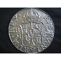 Hispaniarum Rex En Bronce Replica Moneda Pisa Papeles