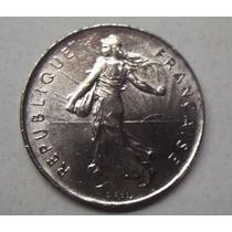 Francia Moneda Grande Año 1974 Valor 5 Francos Leer