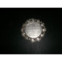 Moneda Plata 1000 Pesos Fao Engarzada P/prendedor O Colgante