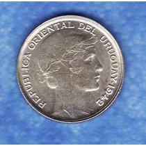Fv * Uruguay 1942 - 20 Centesimos De Plata