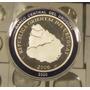 Uruguay Conmemorativa 250 Años De Salto Plata Prof C/estuche