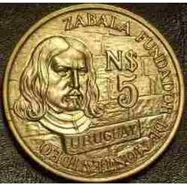 Sin Circular Moneda Conmemorativa Fundación De Montevideo