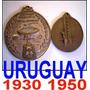 Uruguay 1930 1950 Futbol Medallas Maracana - Centenario Camp