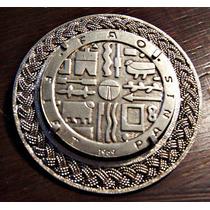 Moneda De Plata 1969 Engarzada