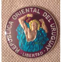 [sc] Uruguay N$ 200 1989 Esmaltada, Hermosa!