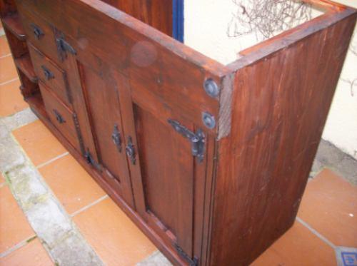 Mueble Bajo Mesada De Baño Ptas,cajones Y Estante  $ 9800,00 en