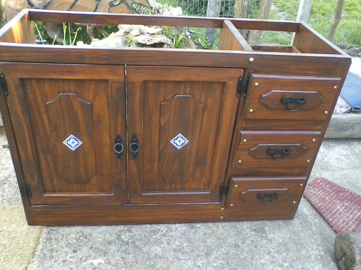 Mueble Para Bacha De Baño  $ 9500,00 en MercadoLibre