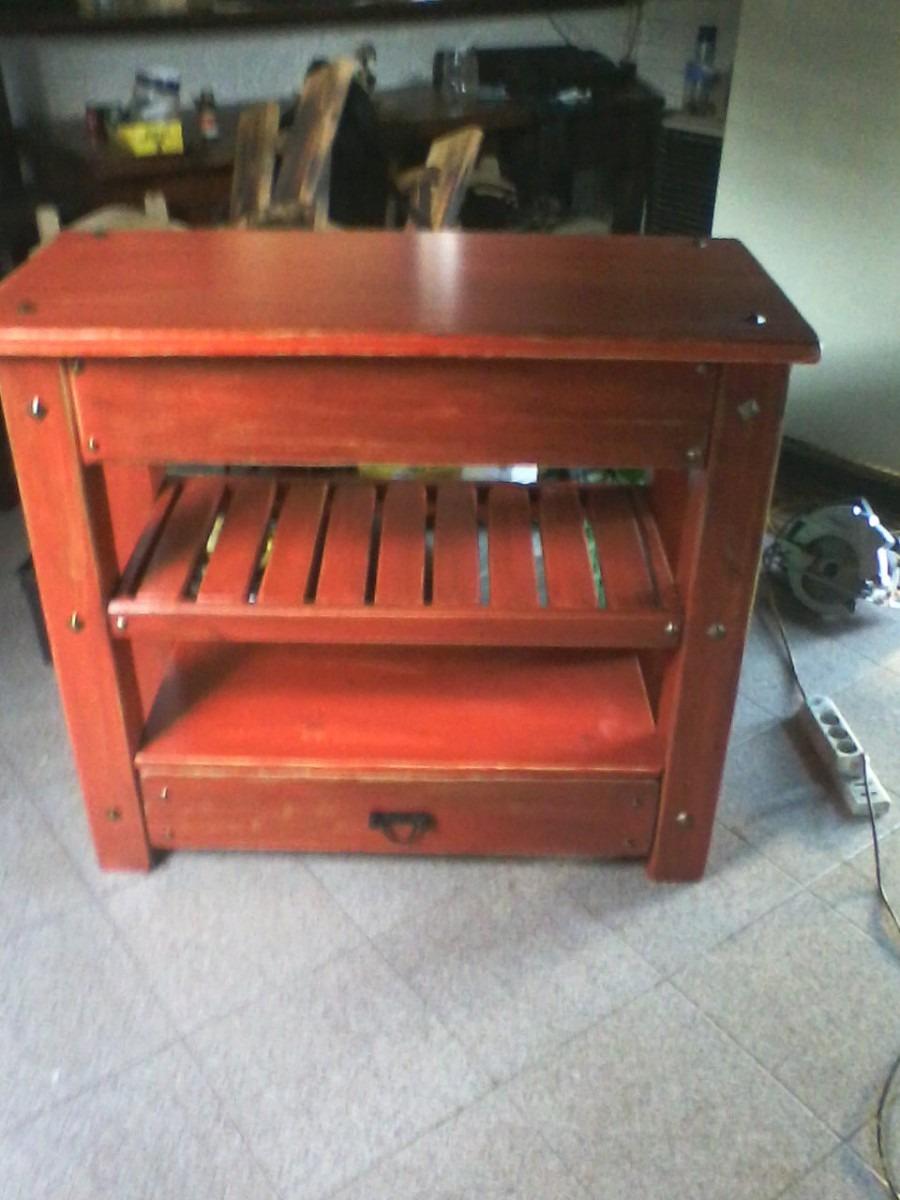 Muebles Para Baño Uy:Mueble Para Bacha De Baño Rustico – $ 7500,00 en MercadoLibre
