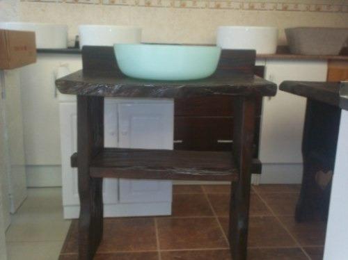 Bachas Para Baño Rusticas:Mueble Rustico Para Bacha De Baño – $ 4500,00 en MercadoLibre