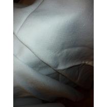 Corte De Tela De Hilo Color Blanco