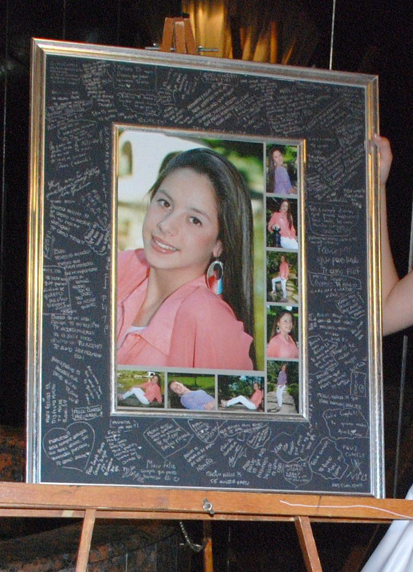 Mural de firmas para 15 a os bodas 1 a o cuadros 1 for Fotografia cuadros decoracion
