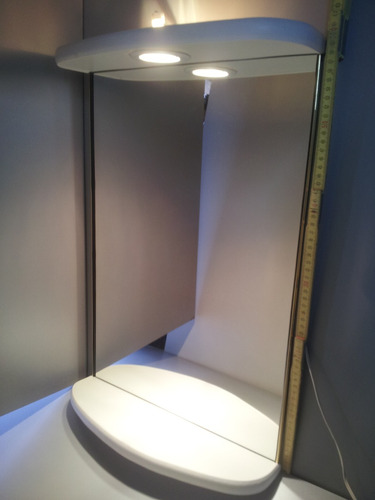 Baño Para Dormitorio:Nuevo Espejo Con Luz Para Baño, Living O Dormitorio – $ 1090,00 en