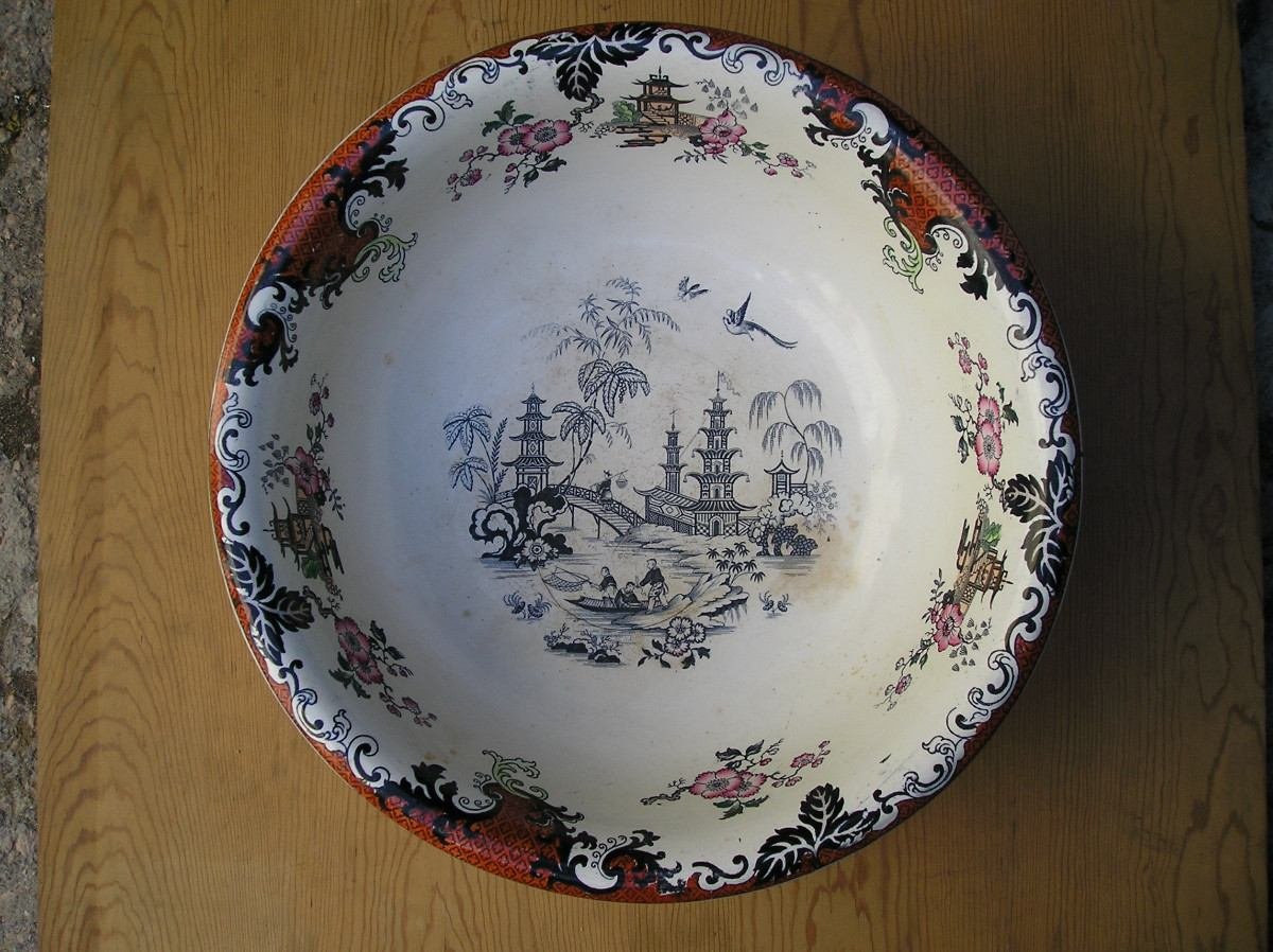 Palangana de lavatorio porcelana china marca peking 4 for Marcas de porcelana