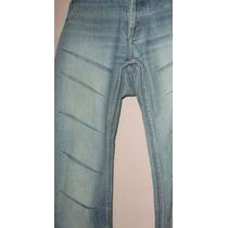 Pantalón Jean, Vaquero Dama. Diseño Gastado, Oxford