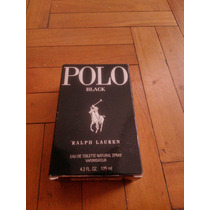 Caja Polo Black 40ml