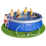 Piscina Gomon Gigante De Anillo Superior Inflable 11.000 Lts