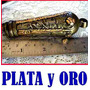 Cabo Arreador De Patron Oro Y Plata Real No Mailhos Broqua