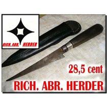 Cuchillo Herder Rombo Virola Plata No Broqua Mailhos Espada
