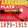 Antiguo Arreador Rebenque Plata No Cuchillo Mailhos