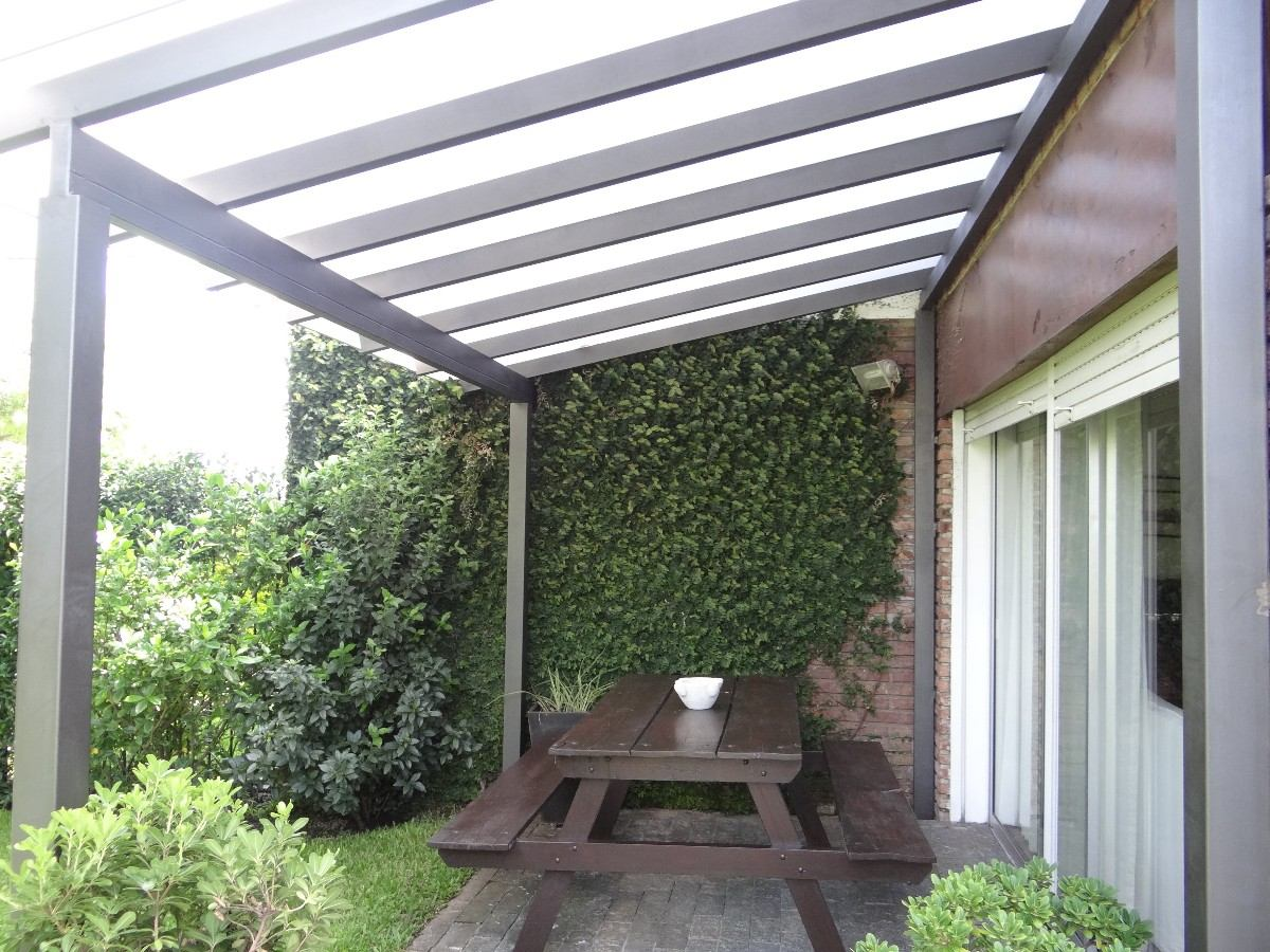 27 original techos de pergolas for Patios y terrazas
