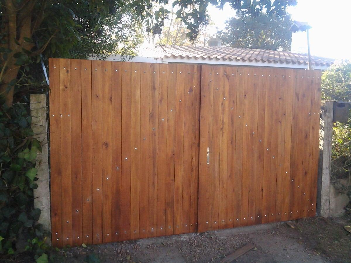 Pin portones de madera etiquetasportones flickr photo on for Jardin con madera