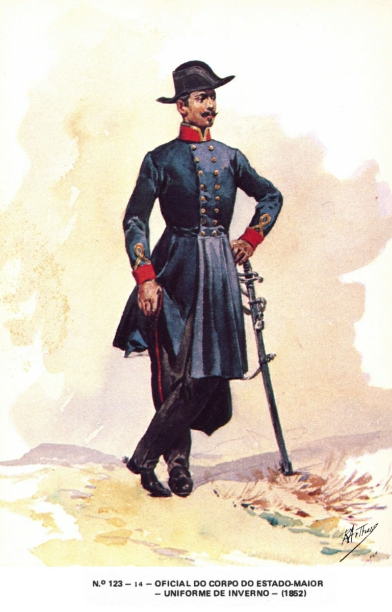 portuguese military uniforms ribeiro arthur 18th - 1900