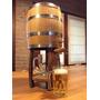 Chopera De Cerveza 5 Litros Barril Roble Dispensador Tonel