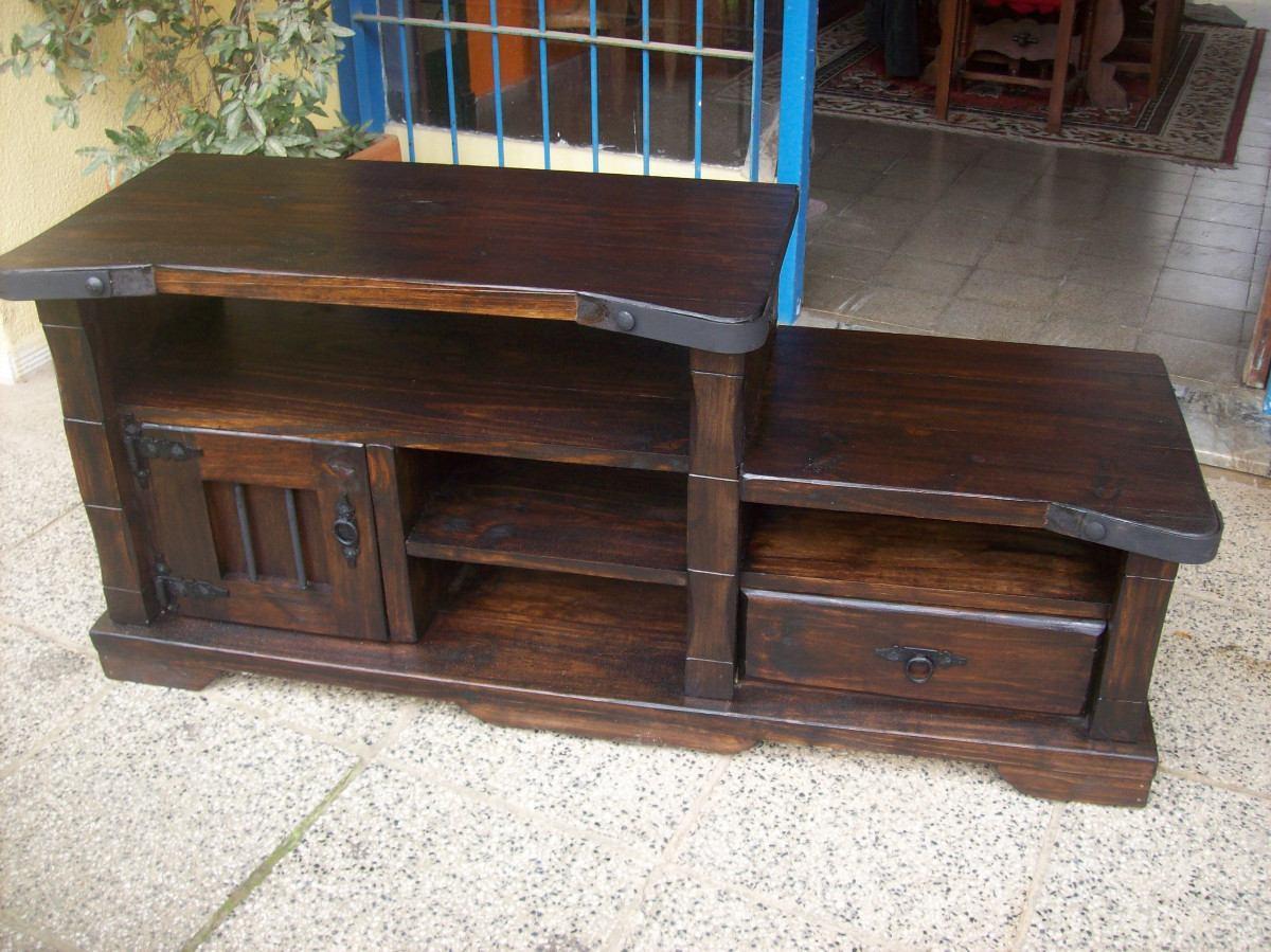 rack pta cajon y estantes madera maciza rustico artesana muebles artesanales imagenes