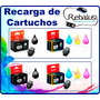 Recarga Cartuchos Canon Negro Pg 140 Color Cl 141. Impresora