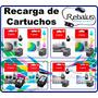 Recarga Cartuchos Canon Negro 40 210 Color 41 211; Impresora