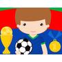 Kit Imprimible Futbol Diseñá Tarjetas , Cumples Y Mas Tortas