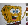 Cartel De Espuma Plast Para Cumpleaños!!!... Bob Esponja...