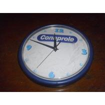 Reloj De Pared Conaprole Funcionando Perfecto