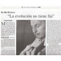 Uruguay Musica Guitarra Entrevista A Abel Carlevaro 1999